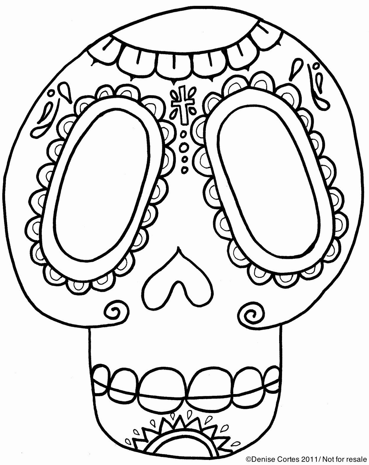 Dia De Los Muertos Worksheet Best Of Free Da De Los Muertos Printable
