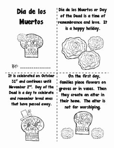 Dia De Los Muertos Worksheet Elegant 1000 Images About Day Of the Dead Activities On Pinterest