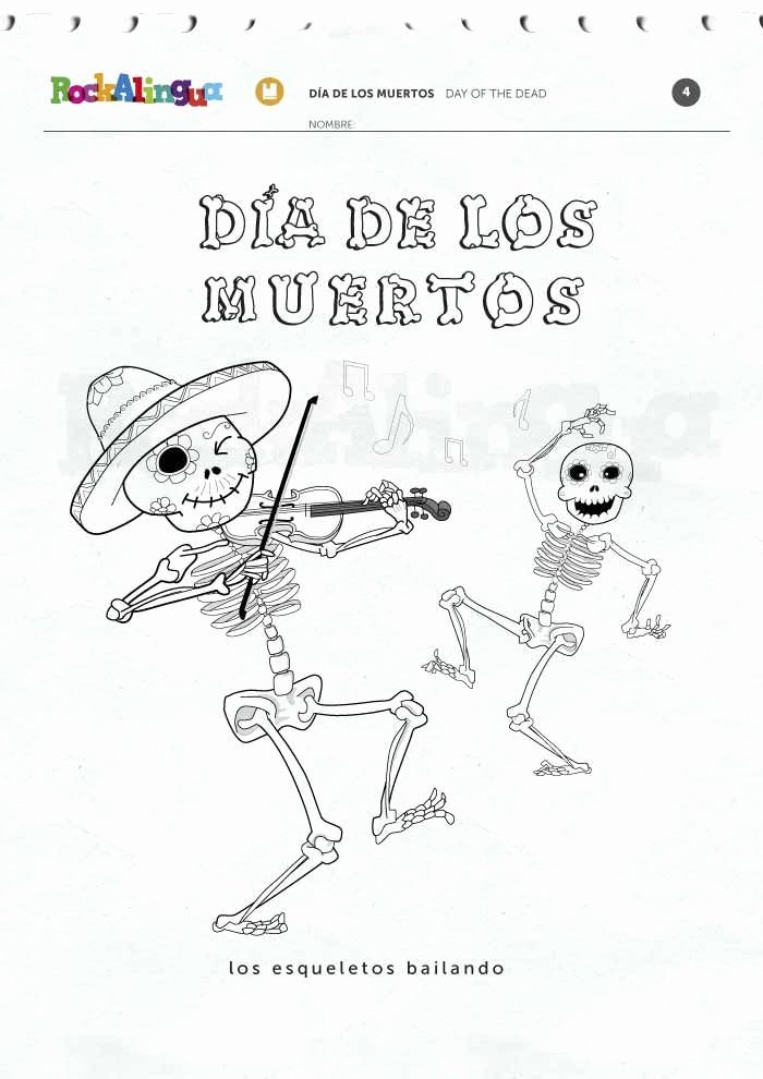 Dia De Los Muertos Worksheet Elegant 61 Best Images About Spanish Worksheets for Kids On