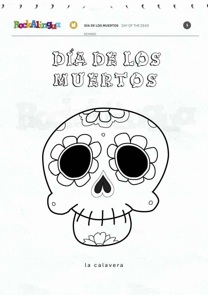 Dia De Los Muertos Worksheet Fresh Day Of the Dead Worksheets Fichas Del Da De Los