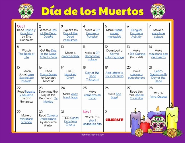 Dia De Los Muertos Worksheet Lovely Mommy Maestra Da De Los Muertos Day Of the Dead Lesson