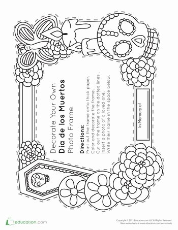 Dia De Los Muertos Worksheet Luxury 134 Best Images About Inglés Para Preescolar On Pinterest