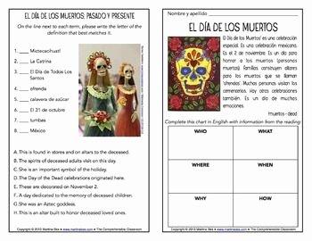 Dia De Los Muertos Worksheet New 1000 Images About Dia De Los Muertos On Pinterest