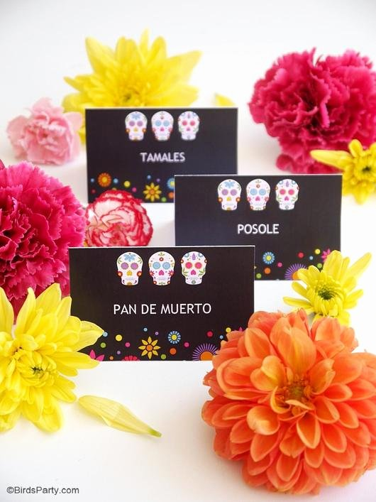 Dia De Los Muertos Worksheet Unique Dia De Los Muertos Party Printables Supplies