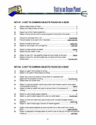 Dichotomous Key Worksheet Middle School Best Of Here S A Parative Dichotomous Key Activity