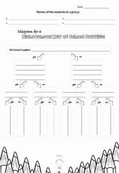 Dichotomous Key Worksheet Pdf Best Of Pdf School Supplies Classification Dichotomous Key Group