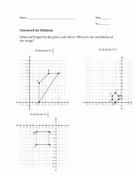 Dilations and Scale Factor Worksheet Beautiful Dilations and Scale Factors Independent Practice Worksheet