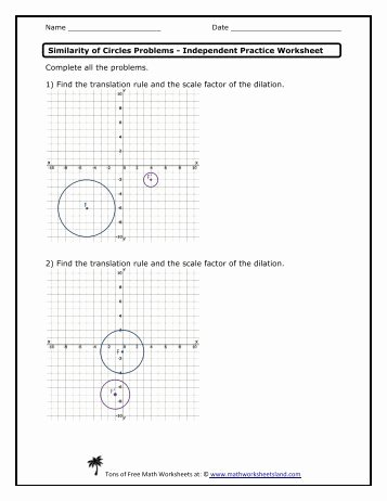 Dilations and Scale Factor Worksheet Best Of Dilations and Parallel Lines Independent Practice