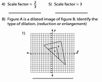 Dilations and Scale Factor Worksheet Fresh Dilation with Center at origin
