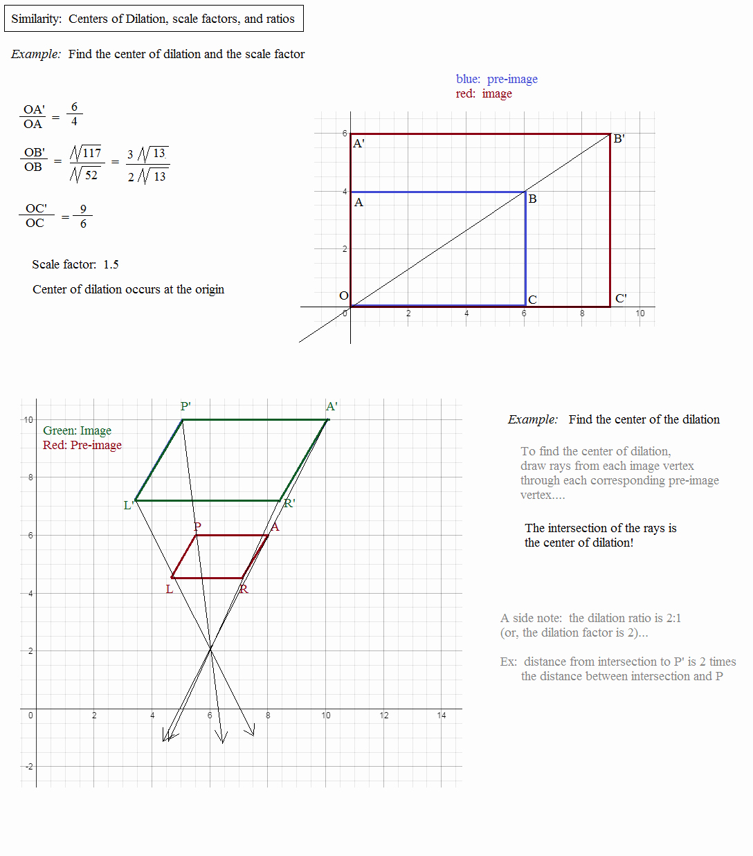 Dilations and Scale Factor Worksheet Inspirational Math Plane Similarity and Proportions More topics