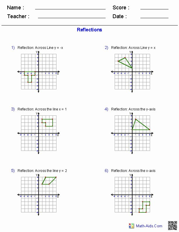 Dilations Translations Worksheet Answers Awesome Dilations Worksheet