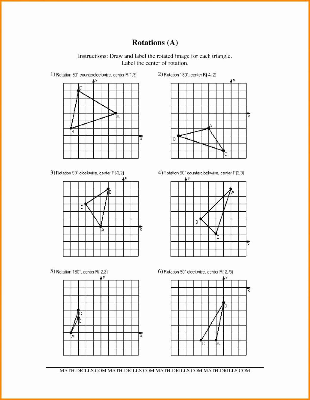 Dilations Translations Worksheet Answers Lovely Vectors In Translations Worksheet Geekchicpro Kateho Math