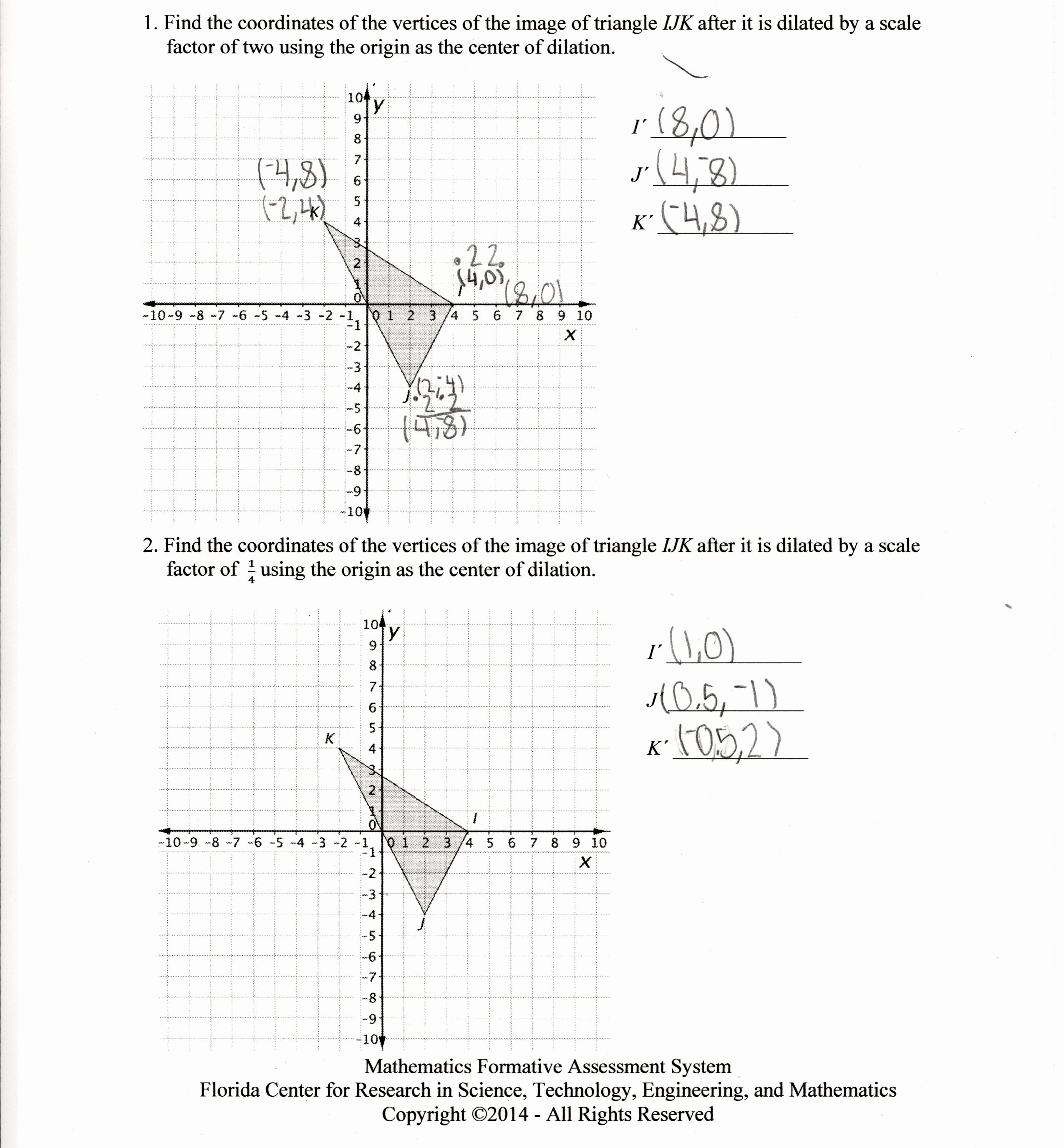 Dilations Translations Worksheet Answers New Worksheet Rotations Worksheet 8th Grade Grass Fedjp