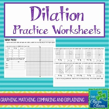 Dilations Worksheet Answer Key Unique Printables Of Algebraic Representations Dilations