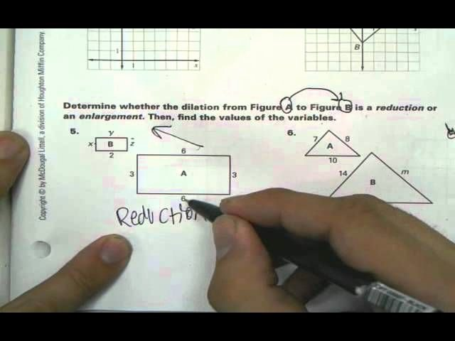 Dilations Worksheet with Answers Awesome Geometry Cp 6 7 Dilations Worksheet Answers