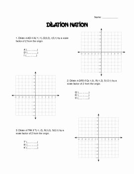 Dilations Worksheet with Answers Beautiful 17 Best Ideas About Scatter Plot Worksheet On Pinterest