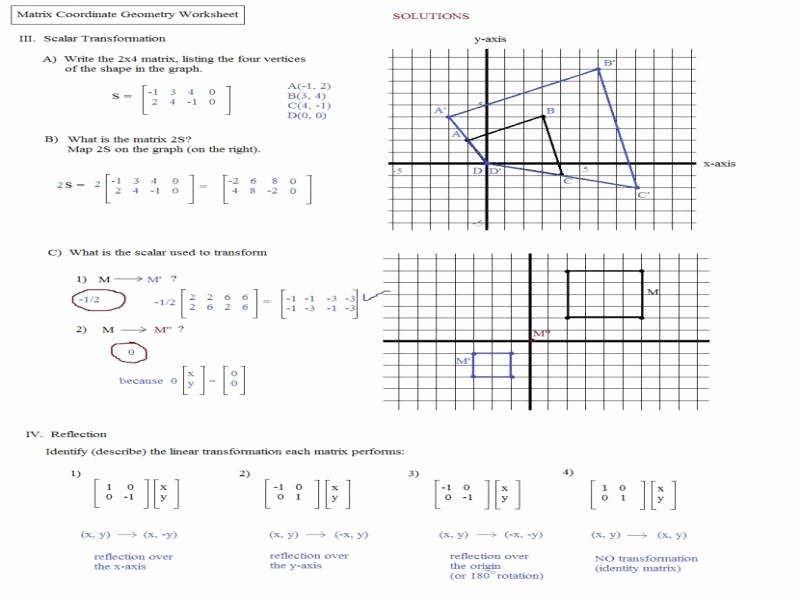 Dilations Worksheet with Answers Inspirational Dilation Worksheet