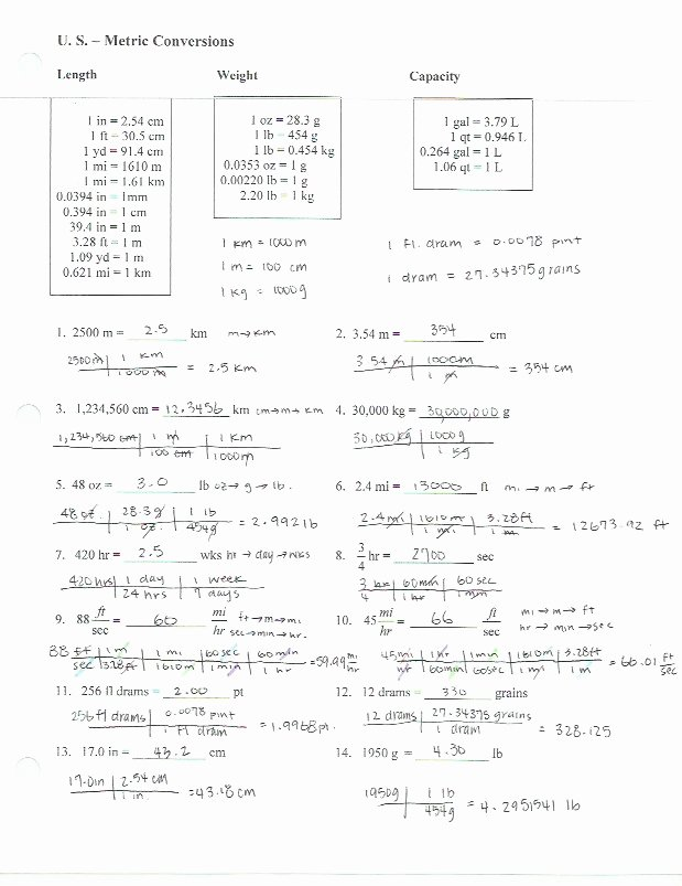 Dimensional Analysis Practice Worksheet Fresh Dimensional Analysis Worksheet with Answer Key the Best