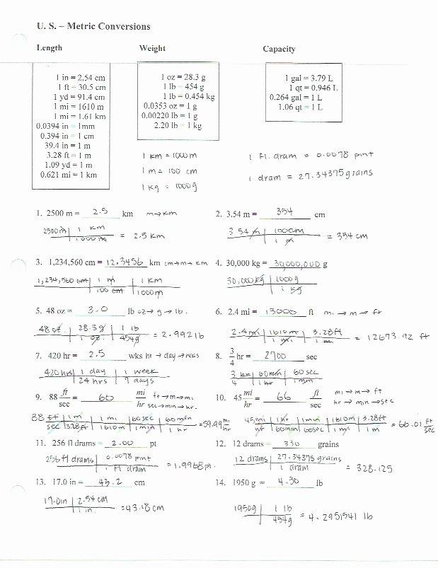 Dimensional Analysis Practice Worksheet Fresh Dimensional Analysis Worksheet with Answer Key the Best