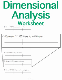 Dimensional Analysis Practice Worksheet Unique Stem Sheets Custom Printable Flash Cards & Worksheets