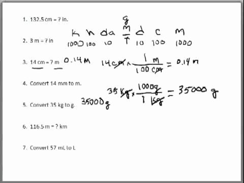 Dimensional Analysis Problems Worksheet Luxury Dimensional Analysis Problems 1 Metric Conversions