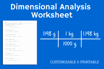 Dimensional Analysis Worksheet 2 Beautiful Math Worksheets Flashcards & Diagrams