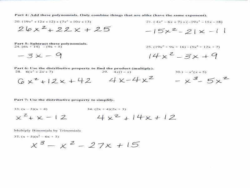 Dimensional Analysis Worksheet 2 Beautiful Polynomial Review Worksheet Free Printable Worksheets