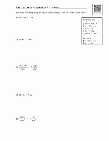 Dimensional Analysis Worksheet Answers Chemistry Unique Mole Worksheet Dimensional Analysis 1
