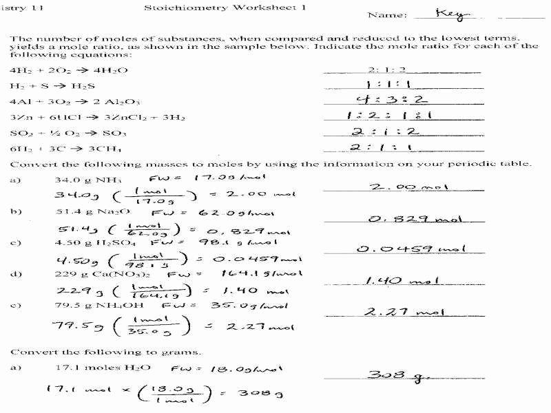 dimensional analysis worksheet answers