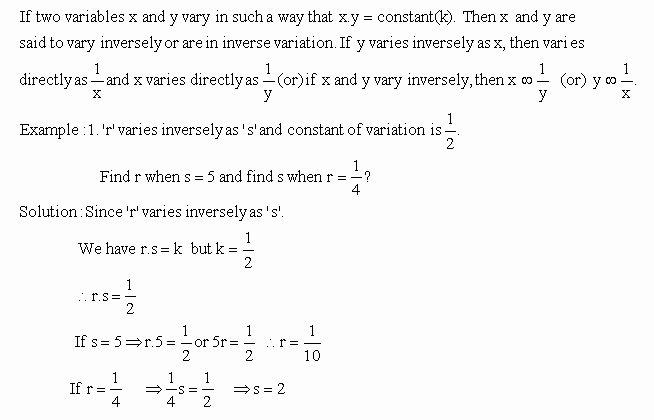 Direct Variation Word Problems Worksheet Luxury Direct Variation Worksheet