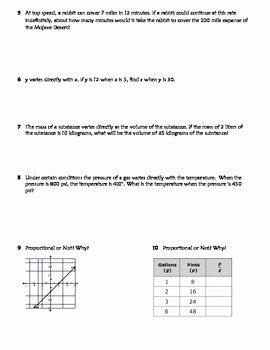 Direct Variation Word Problems Worksheet Unique Direct Variation Practice Worksheet Riddle Fun by