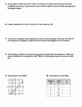 Direct Variation Worksheet Answers Fresh Direct Variation Practice Worksheet Riddle Fun by