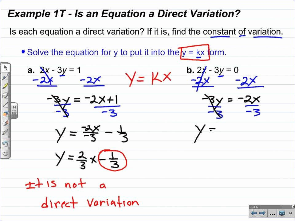 Direct Variation Worksheet with Answers Fresh Direct Variation Worksheet