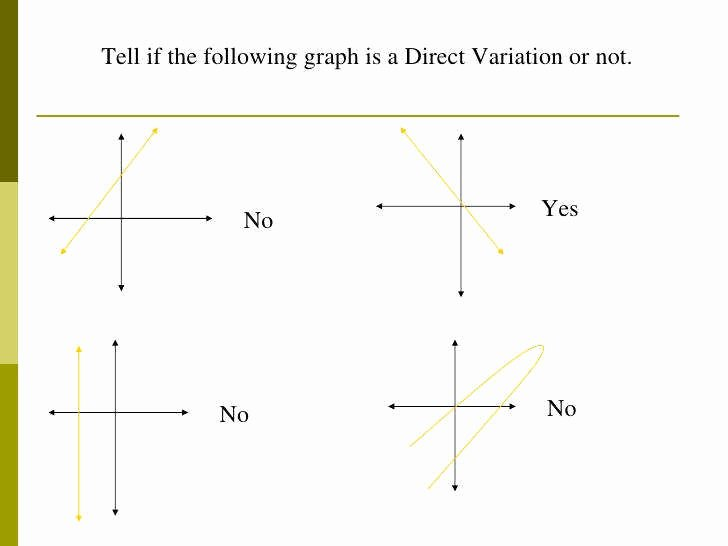 Direct Variation Worksheet with Answers Luxury Direct Variation Worksheet