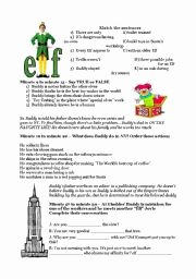 Dirt the Movie Worksheet Elegant English Worksheets Elf Movie Will Ferrell Extremely