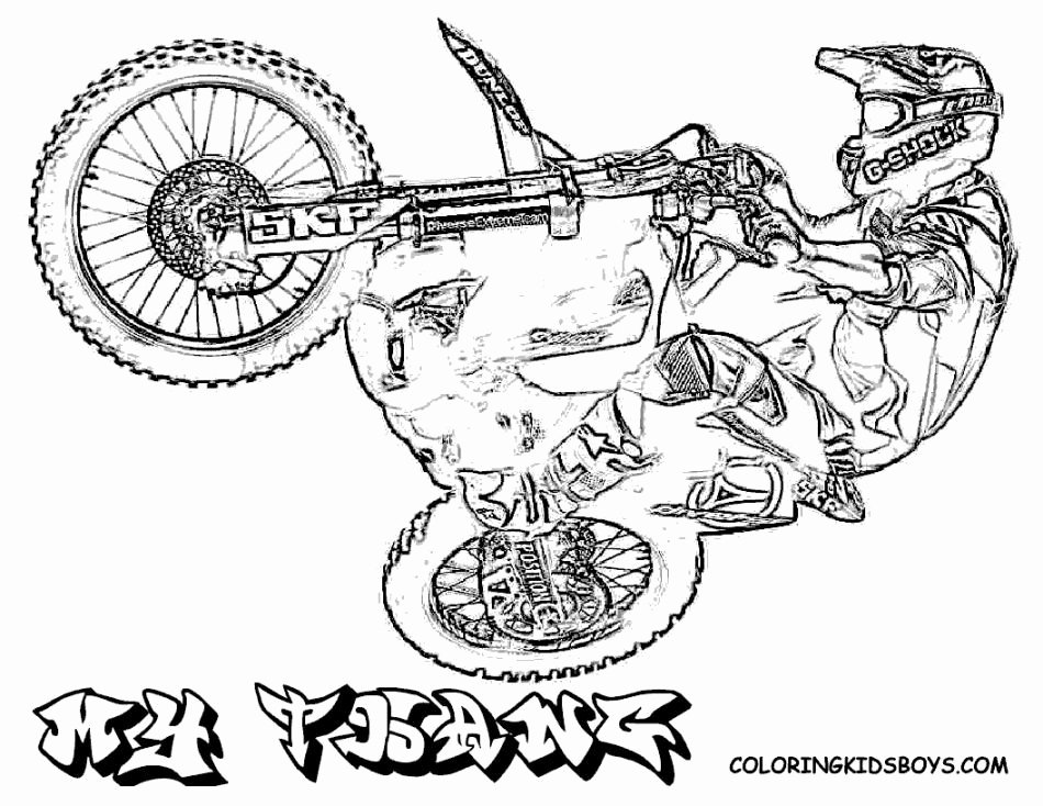 Dirt the Movie Worksheet Lovely Motocross Bikes Coloring Pages Coloring Home