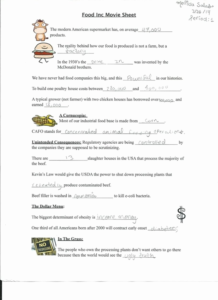 Dirt the Movie Worksheet Luxury Dirt the Movie Worksheet