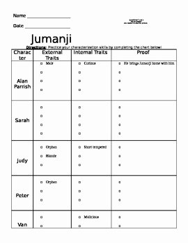Dirt the Movie Worksheet Luxury Jumanji Movie Worksheet by Miss Loucks