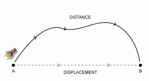 Distance and Displacement Worksheet Answers Elegant Distance and Displacement Worksheet