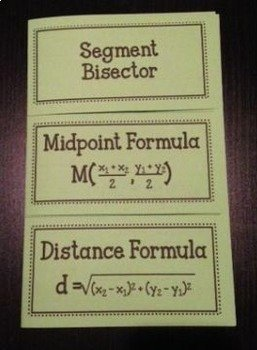 Distance and Midpoint formula Worksheet Unique Segment Bisector Midpoint formula and Distance formula