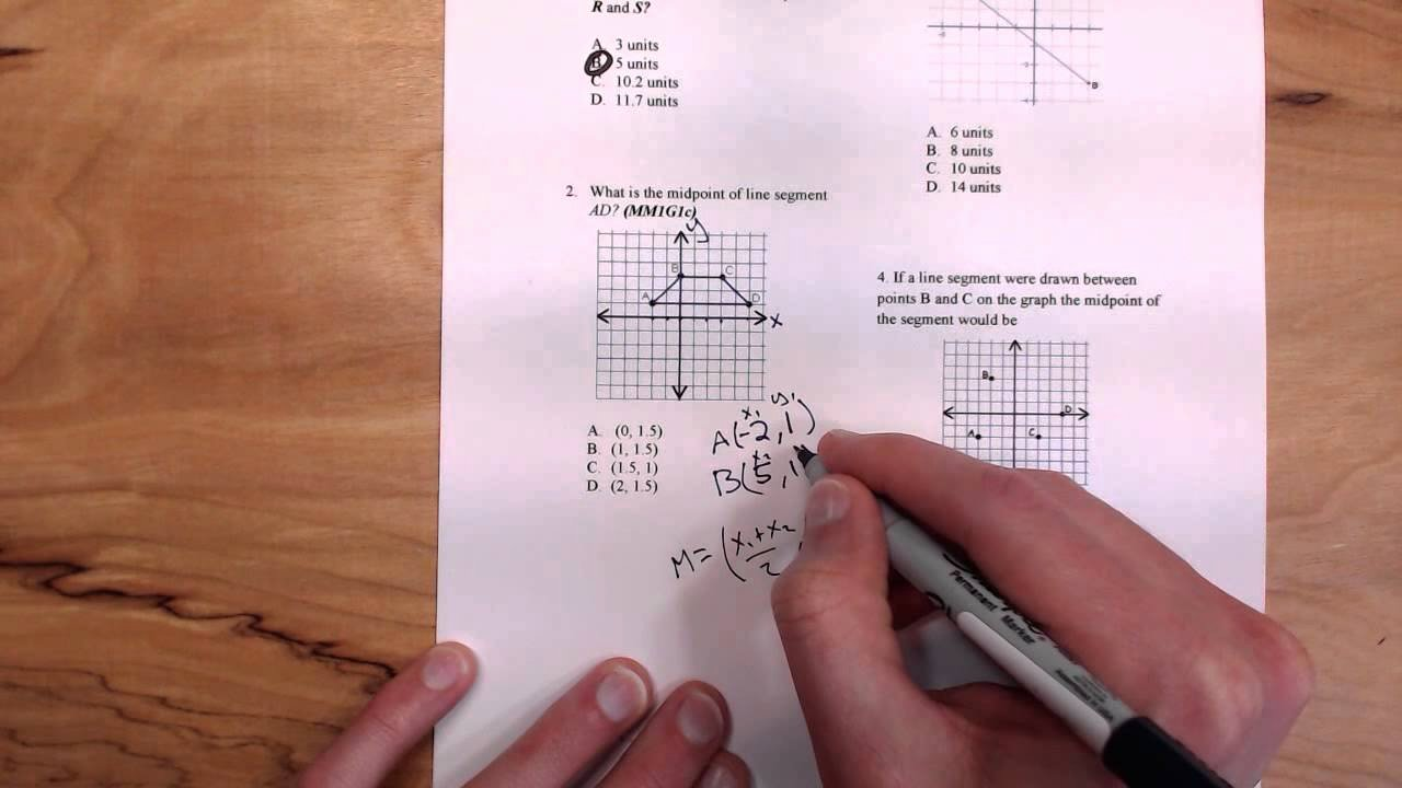 Distance and Midpoint Worksheet Lovely Distance and Midpoint Worksheet