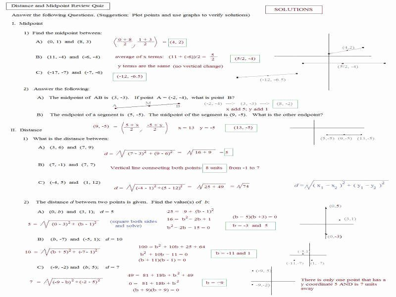 Distance formula Word Problems Worksheet Beautiful Distance formula Worksheet