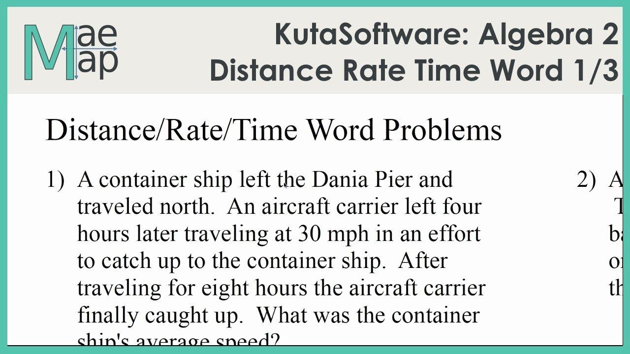 Distance formula Word Problems Worksheet Beautiful Worksheet Distance Rate Time Word Problems Worksheet