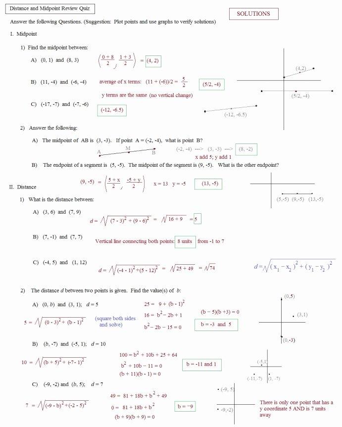 Distance formula Word Problems Worksheet Best Of Distance formula Practice Worksheet the Best Worksheets