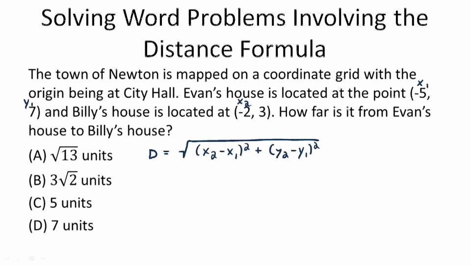 Distance formula Word Problems Worksheet Luxury Function Rules Based On Graphs Video Algebra