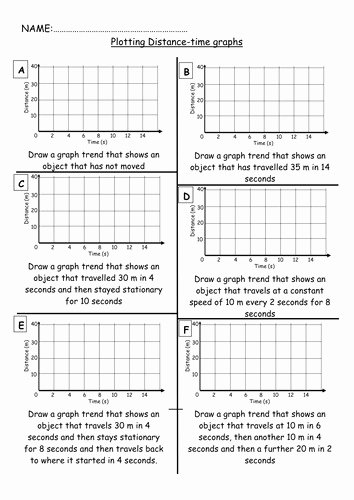 Distance Time Graph Worksheet Awesome Distance Time Graph Worksheet