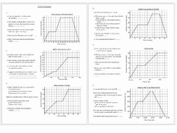 Distance Time Graph Worksheet Elegant Reading Scales and Interpreting Distance Time Graphs