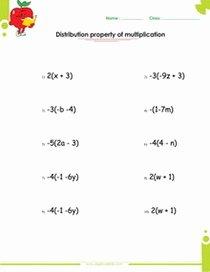 Distributive Property Worksheet Answers Unique Algebra Ii Worksheets Pdf Printable S Free