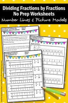 Dividing Fractions Using Models Worksheet Awesome Dividing Fractions with Visual Models Worksheets 5th