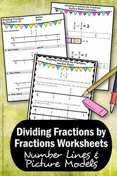 Dividing Fractions Using Models Worksheet Fresh Dividing Fractions with Visual Models Worksheets 5th